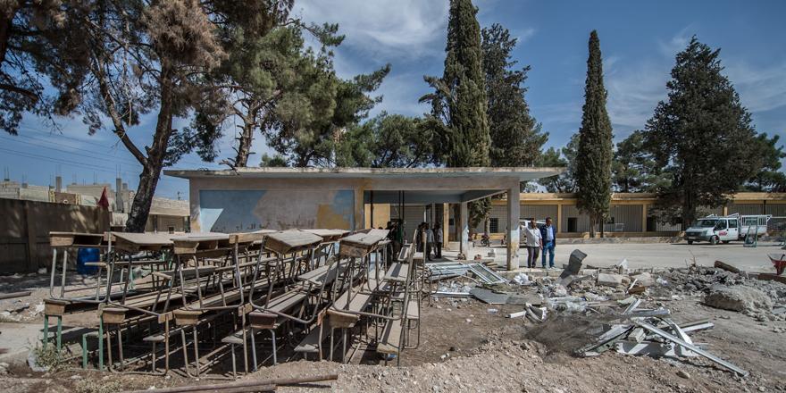 Büyükşehir Belediyesi el attı, işkence merkezi okul oldu