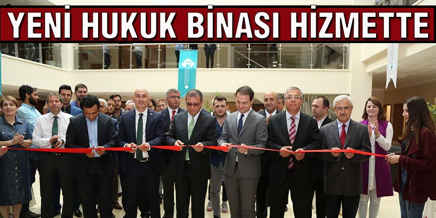 Yeni hukuk binası hizmette