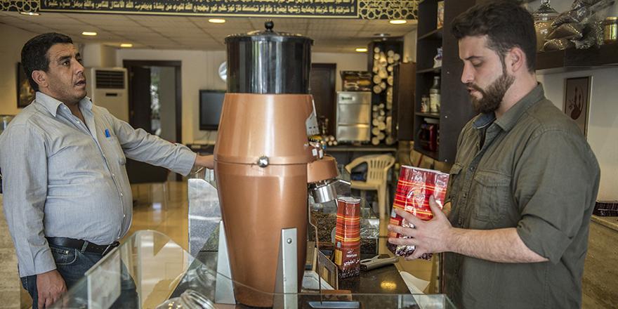 Suriyeli girişimci kahveyi sevdirdi