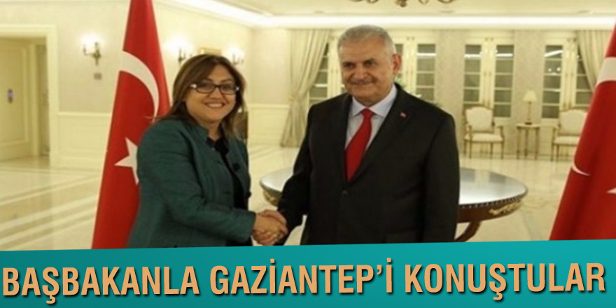 BAŞBAKANLA GAZİANTEP'İ KONUŞTULAR