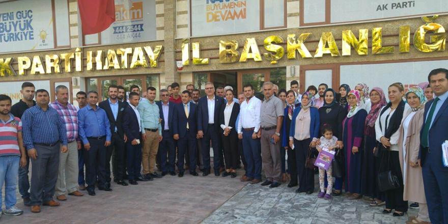 ''Yerel Yönetimler AK Parti'nin omurgasıdır''