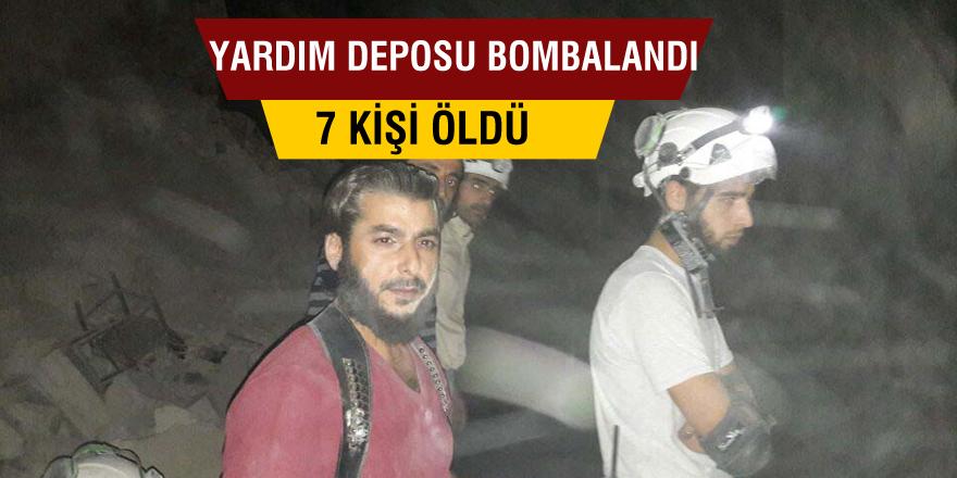 Türk derneğinin yardım deposu bombalandı: 7 ölü