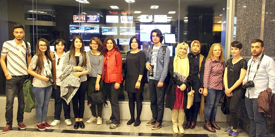 Kalyoncu'nun öğrencileri keşfediyor