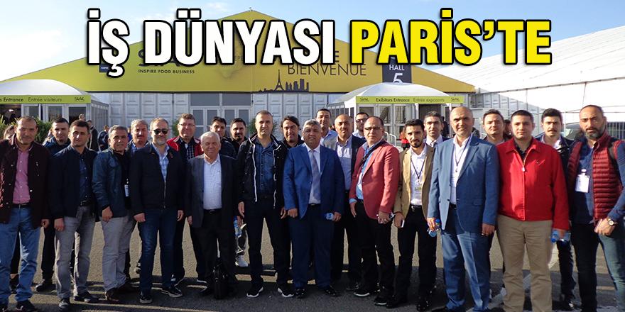 İŞ DÜNYASI PARİS'TE