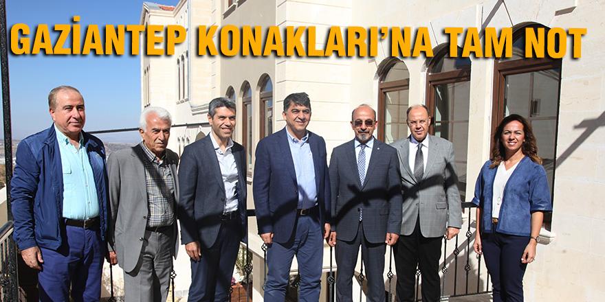 GAZİANTEP KONAKLARI'NA TAM NOT