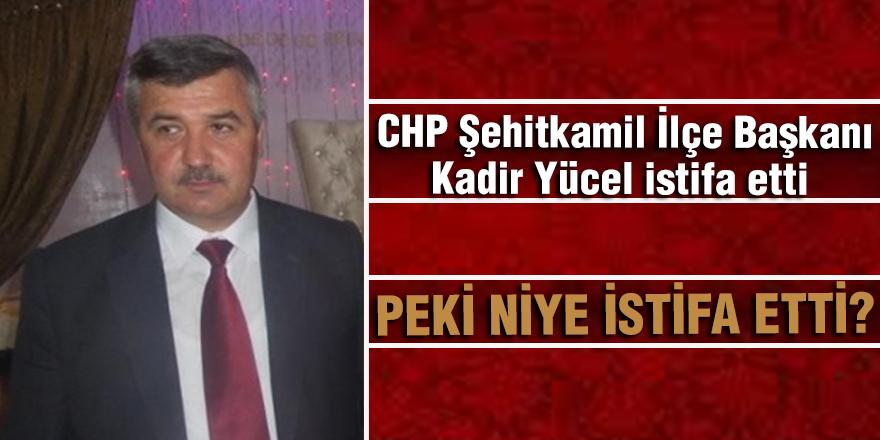 CHP Gaziantep teşkilatında şok istifa!