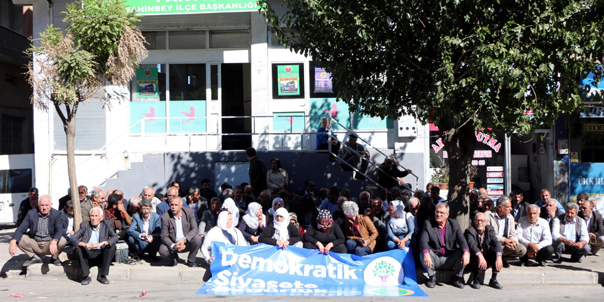 DBP'li başkanlara gözaltı tepkisi