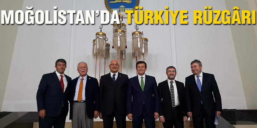 MOĞOLİSTAN'DA TÜRKİYE RÜZGÂRI