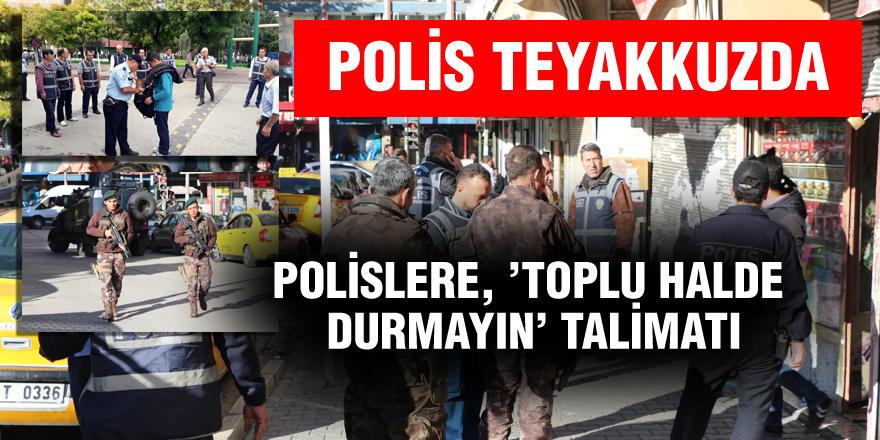 IŞİD'in tehditinin ardından Gaziantep'te önlemler artırıldı
