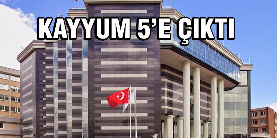 TİCARET ODASI'NDA KAYYUM 5'E ÇIKTI