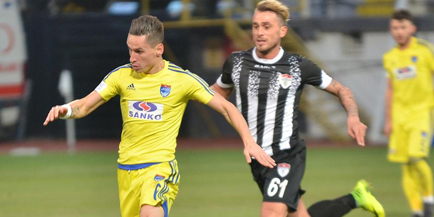 Büyükşehir Gaziantepspor deplasmanda mağlup 2-0