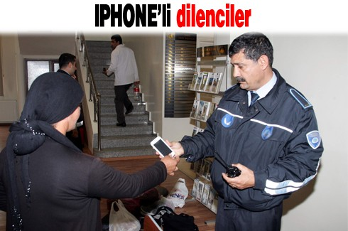 IPHONE'li dilenciler