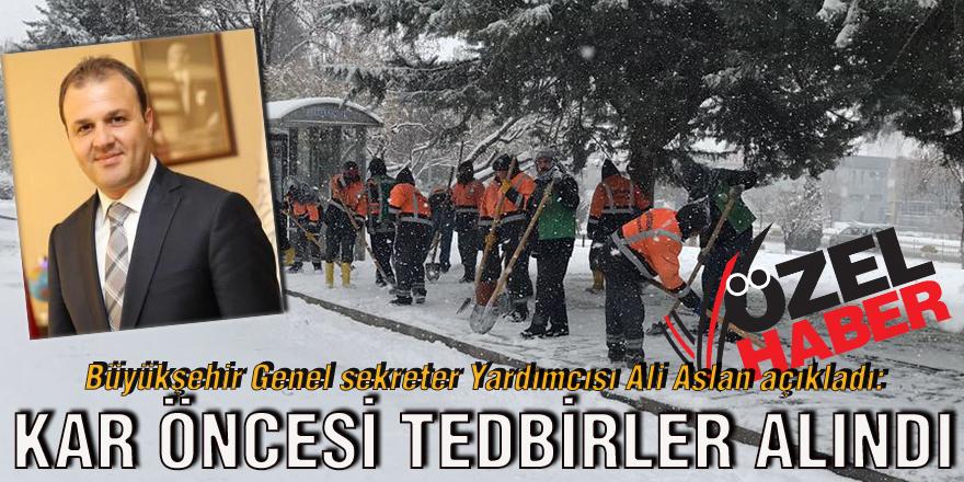 Büyükşehir Genel sekreter Yardımcısı Ali Aslan açıkladı: