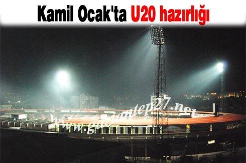 Kamil Ocak'ta U20 hazırlığı