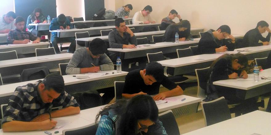 Sınav heyecanını Kalyoncu'da yendiler