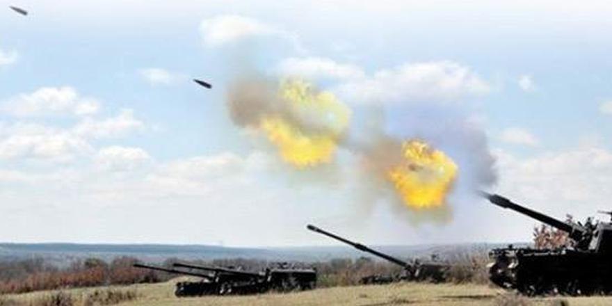 228 hedef vuruldu, 18 DAEŞ'li öldürüldü