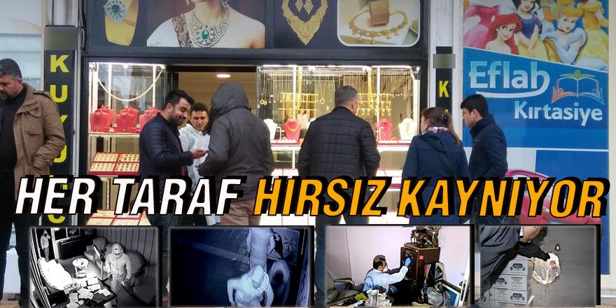 HER TARAF HIRSIZ KAYNIYOR