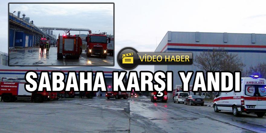 Organize sanayi bölgesinde korkutan yangın