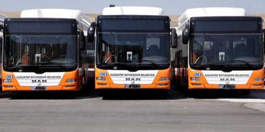 Gaziantep'te 18 adet doğal gazlı otobüs alınacak