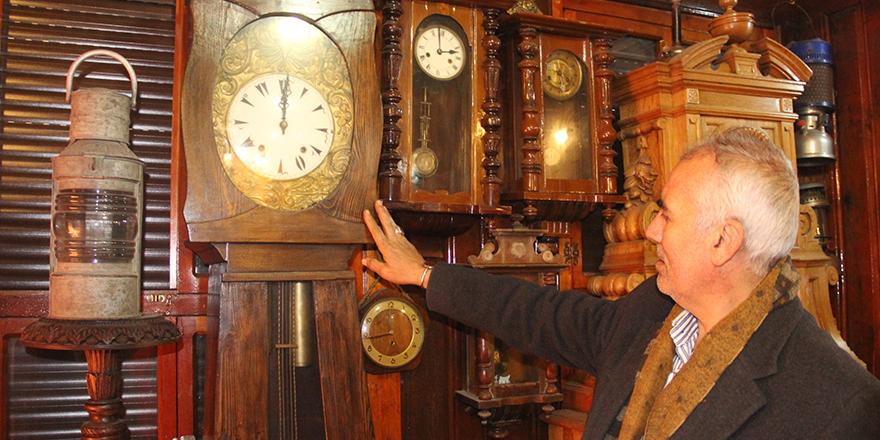 Antika saatlere yoğun ilgi