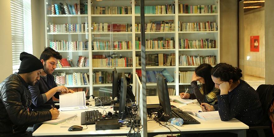 Herkes için kütüphane programı Gaziantep'te