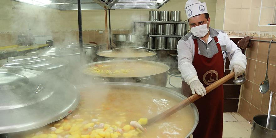 Şahinbey 2016 yılında 2 Milyon 252 bin kişiye sıcak yemek ikram etti