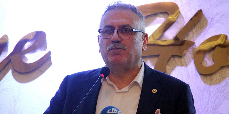 Milletvekili Yüksel, Şanlıurfalı işadamlarına Cumhurbaşkanlığı sistemini anlattı