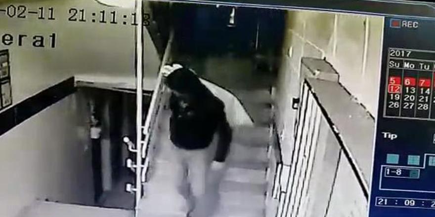 Hırsızlar kamerayı es geçti