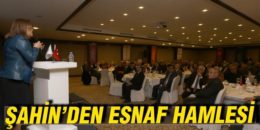ŞAHİN'DEN ESNAF HAMLESİ