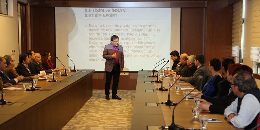Kalyoncu'da aidiyet eğitimi