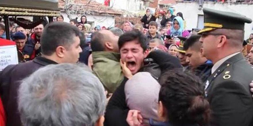 El Bab şehidinin cenazesinde çığlıkları yürekleri parçaladı