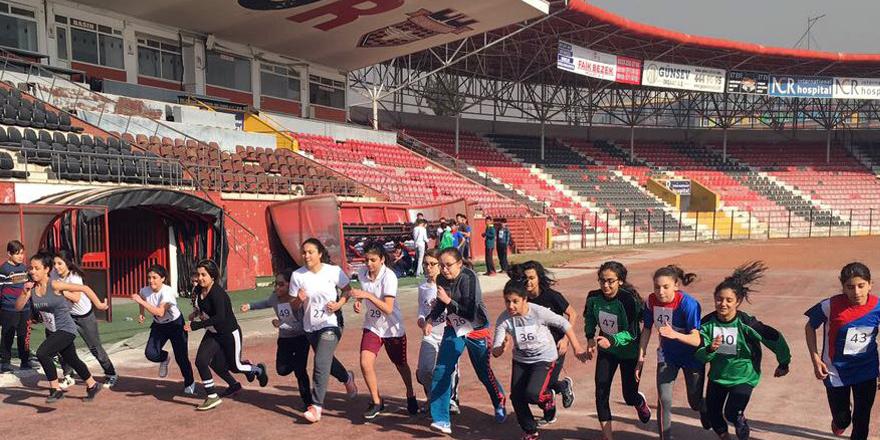 Pentatlon yarışları düzenlendi