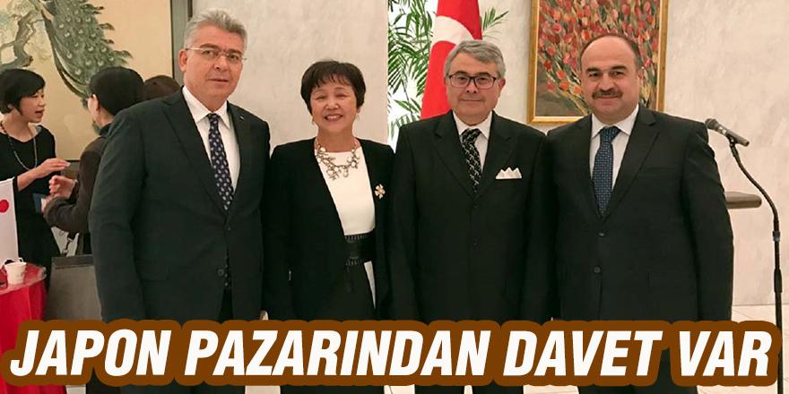 JAPON PAZARINDAN DAVET VAR