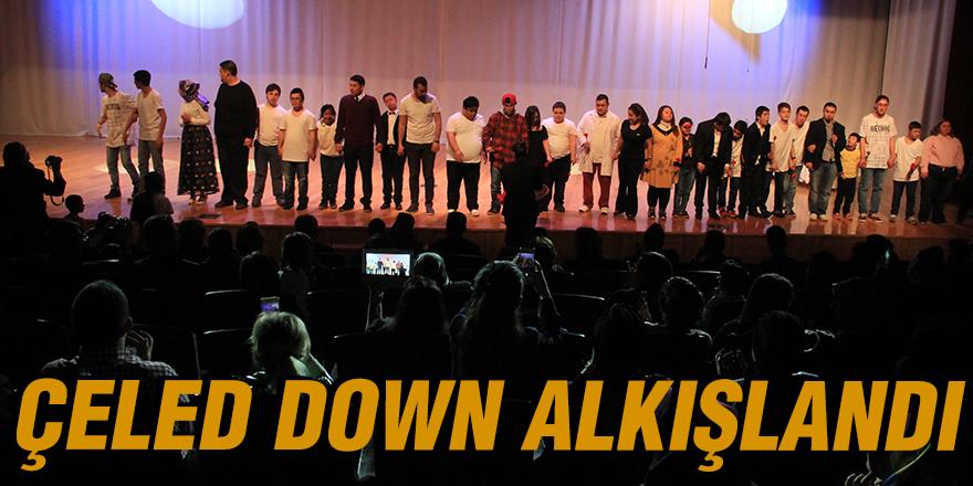 ÇELED DOWN ALKIŞLANDI