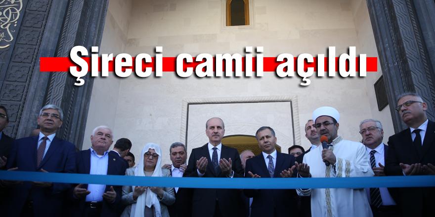 Şireci Camii açıldı