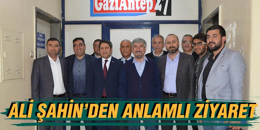 ALİ ŞAHİN'DEN ANLAMLI ZİYARET