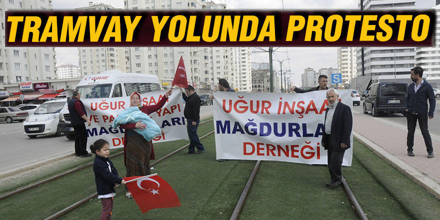TRAMVAY YOLUNDA PROTESTO