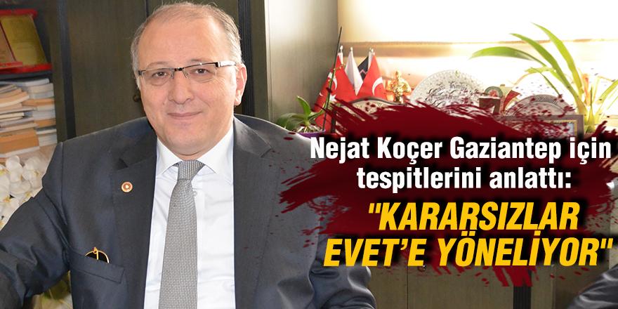"""""""KARARSIZLAR EVET'E YÖNELİYOR"""""""