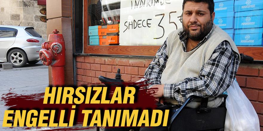 HIRSIZLAR ENGELLİ TANIMADI