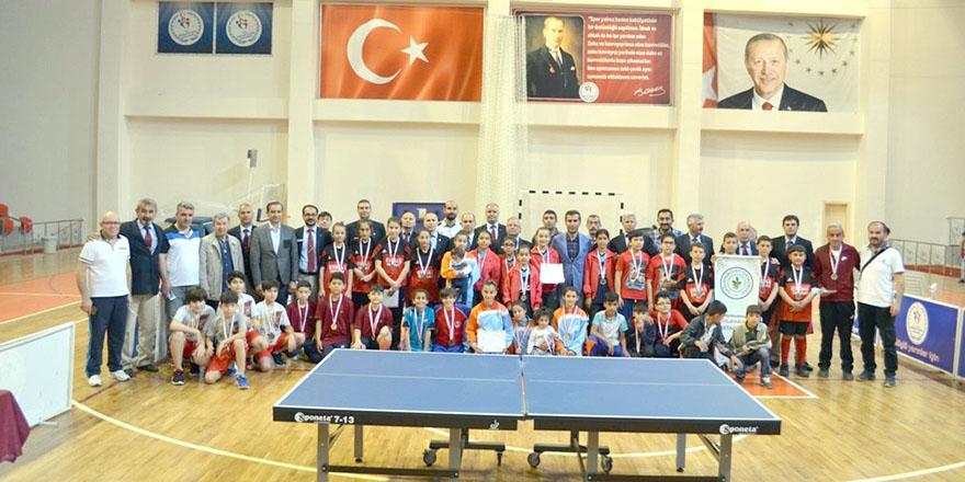 Masa tenisinde Gaziantep damgası