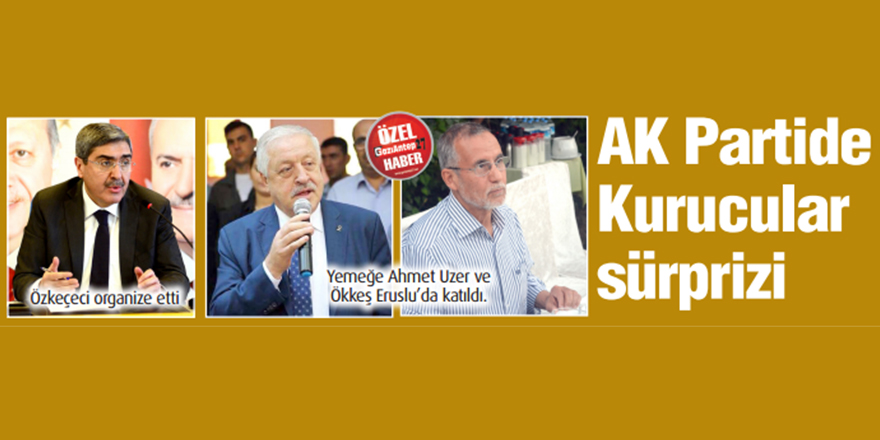 AK Partide Kurucular sürprizi