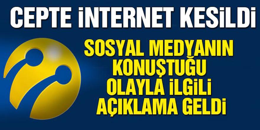 Turkcell'de internet sorunu neden yaşandı?