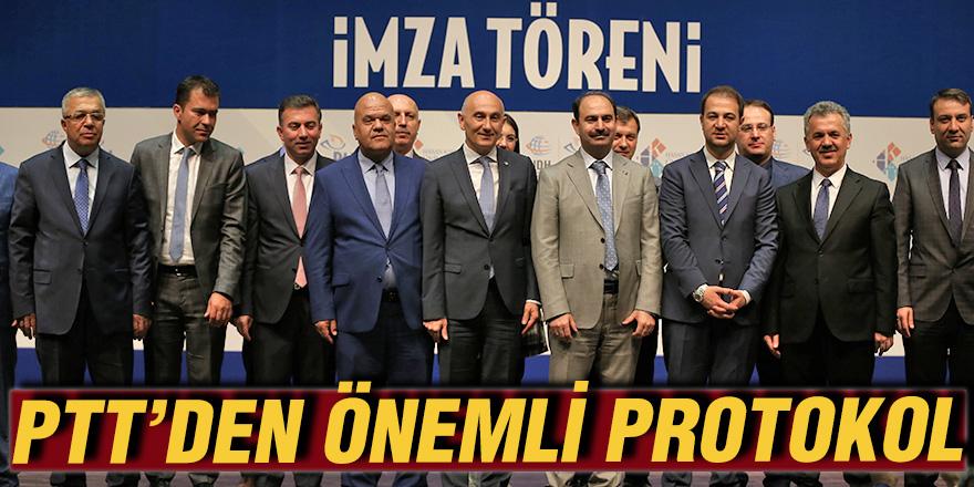 PTT'DEN ÖNEMLİ PROTOKOL