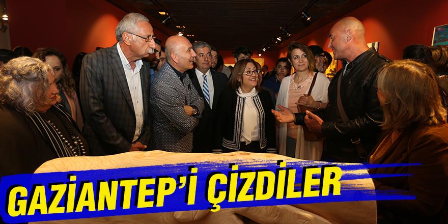 "GAZİANTEP""İ ÇİZDİLER"