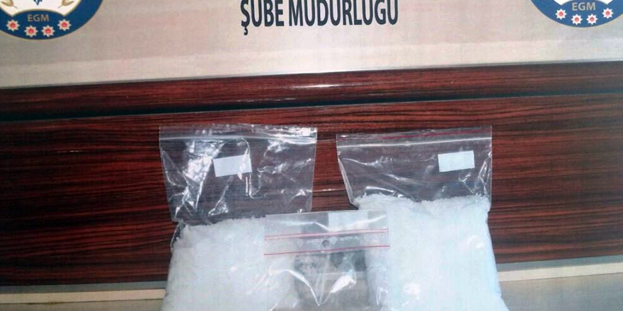 Dumlupınar'da uyuşturucu operasyonu
