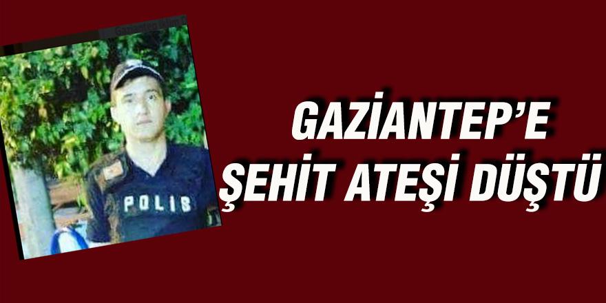 Gaziantep'e şehit ateşi düştü!