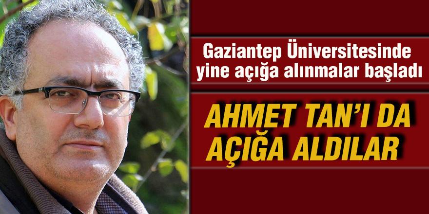 Gaziantep Üniversitesinde yine açığa alınmalar başladı