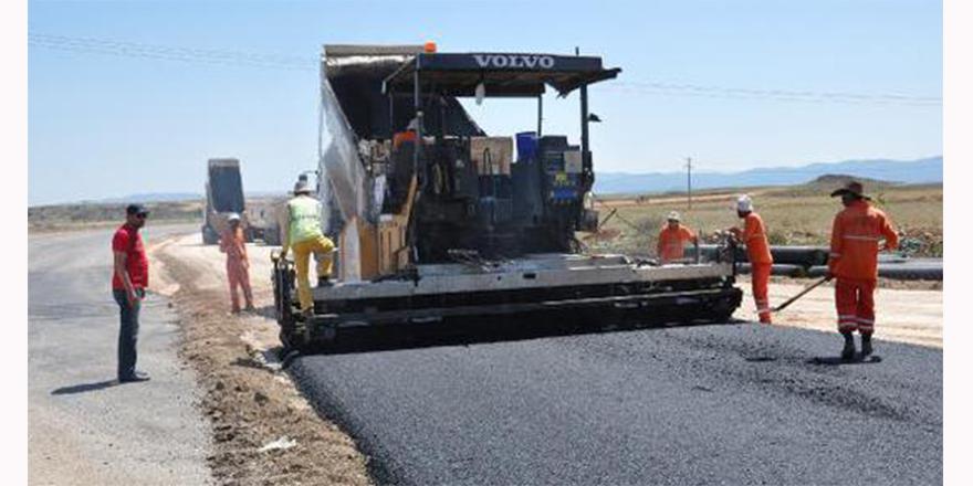 Gaziantep Bulvarı asfaltlanıyor