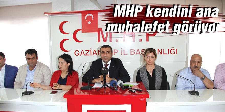 MHP kendini ana muhalefet görüyor