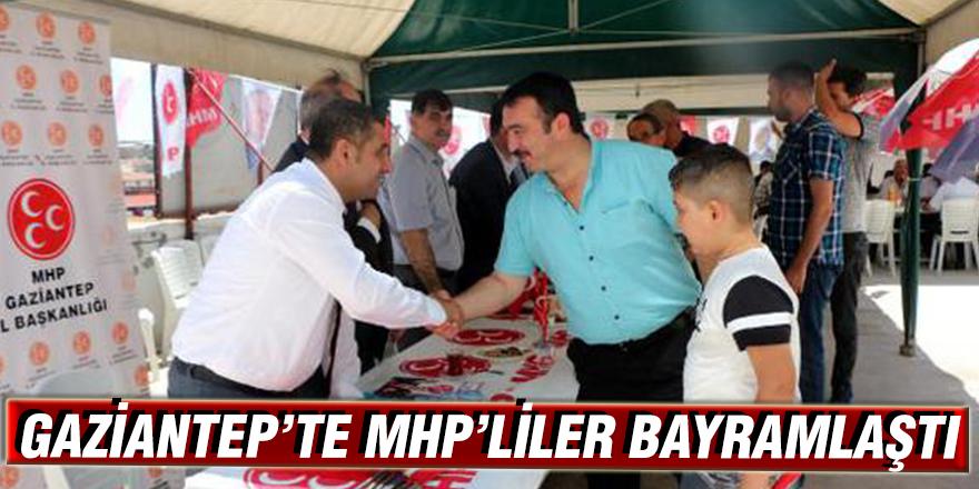 Gaziantep'te MHP'liler bayramlaştı